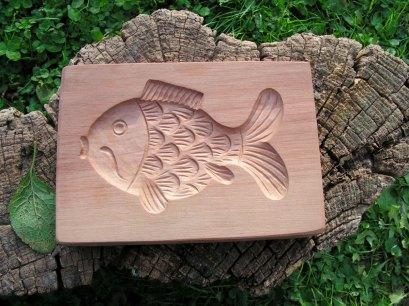 Dřevěná forma na perník - Ryba