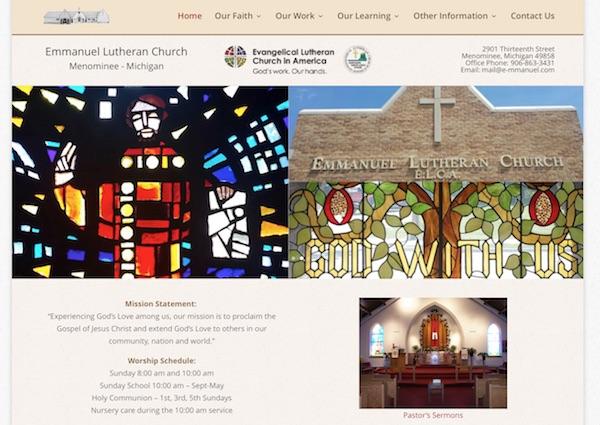 Emmanuel Lutheran Church Menominee, MI