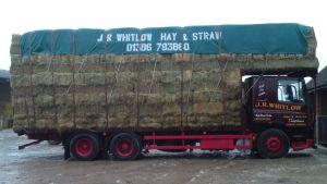 lorry hay barley wheat straw