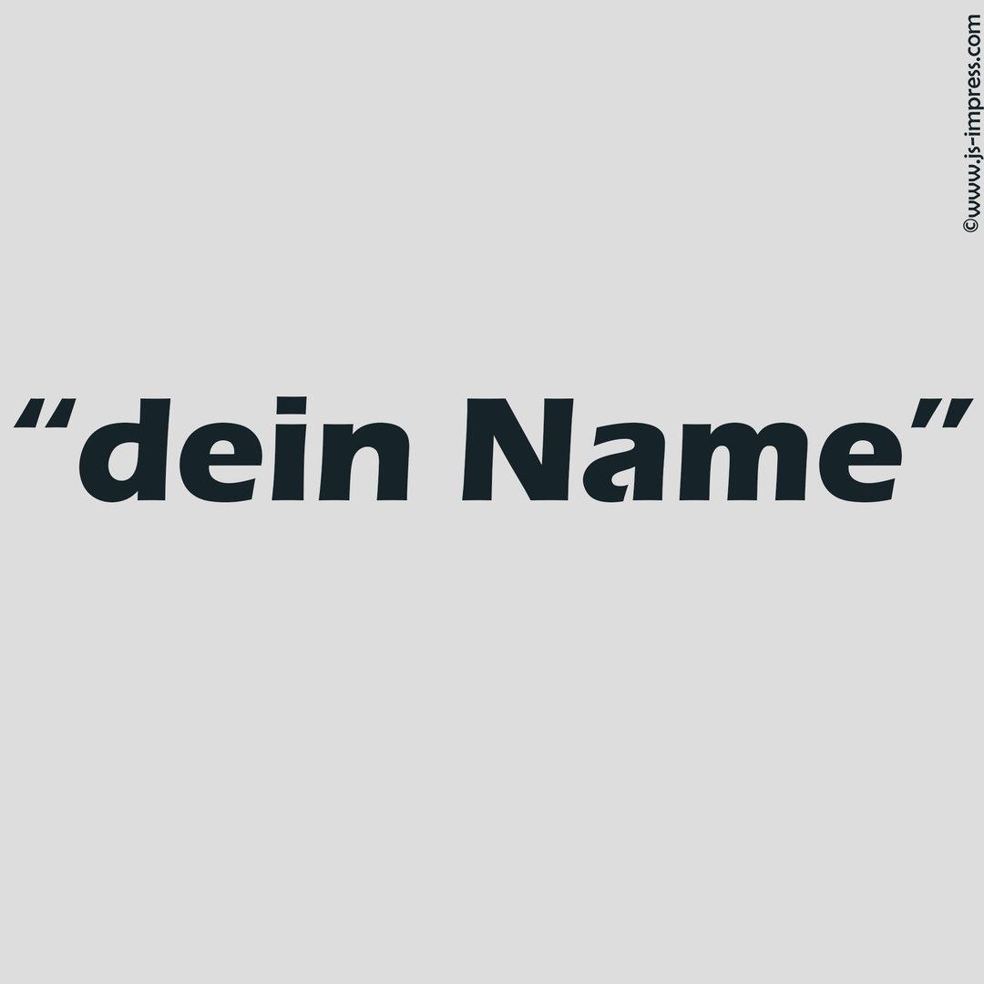 Name Id 2 Cm Hoch