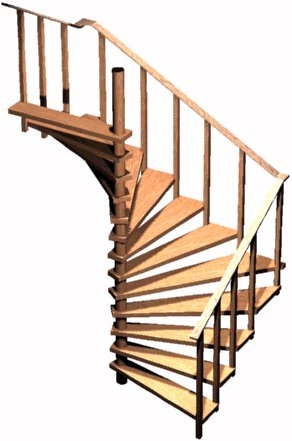 Spiral Stair Plans Spiral Stairs Crafted In Wood | 36 Inch Spiral Staircase | Steel | Staircase Kits | Building Code | Steps | Stair Case
