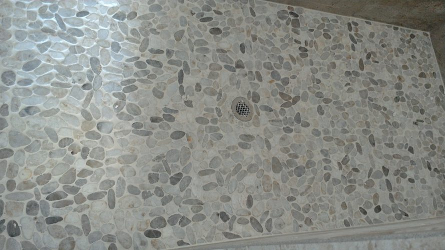 Ceramic Tile Shower Floor