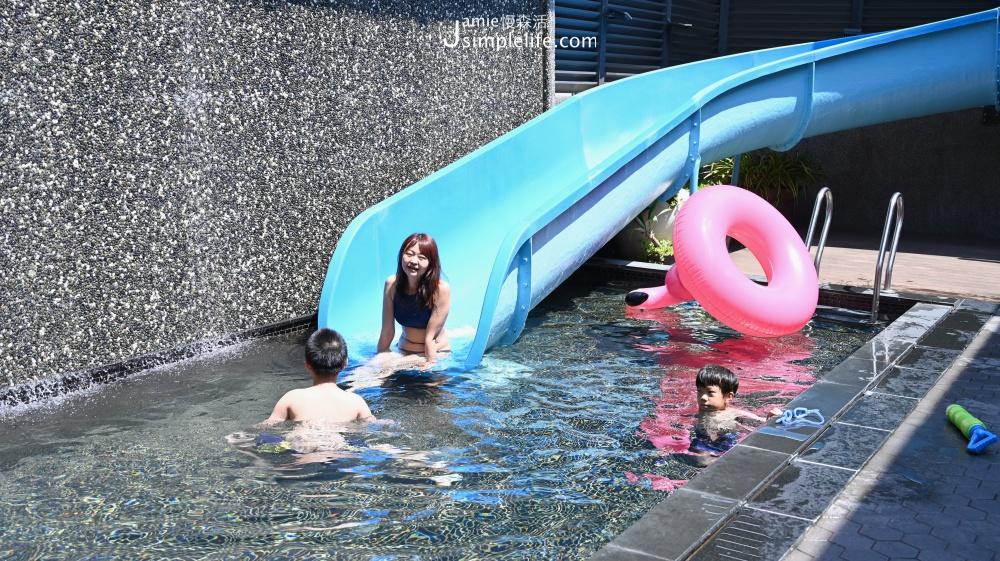 樂活行館 樂活殿堂 泳池滑道   台中南屯區