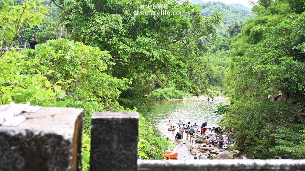 坪溪古道 行經路段 野溪戲水 | 新北雙溪區