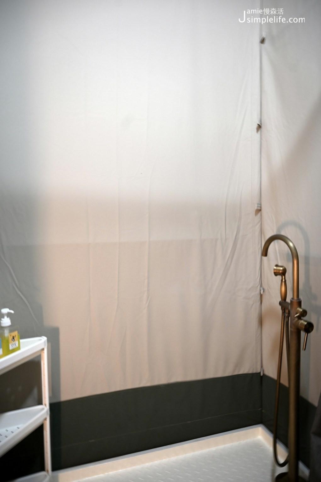 台中向海那漾豪華露營區 30頂豪華露營帳篷 房內獨立衛浴