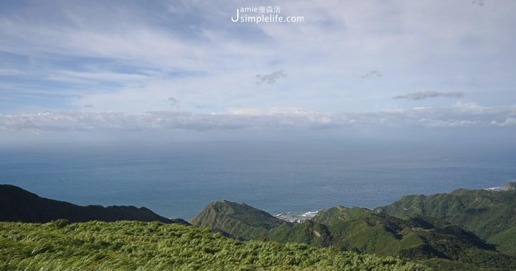 新北瑞芳「草山雷達站」眺望台美景 東北角海岸