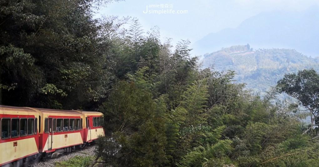 嘉義阿里山小火車,前進秘境車站、世界文化遺產鐵道「獨立山」