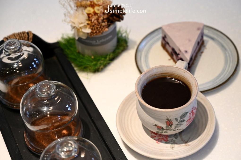 苗栗南庄花園喝咖啡也體驗手作 老屋六號咖啡館 咖啡蛋糕