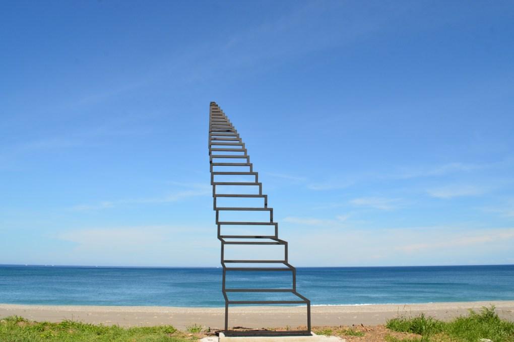 台東「2021南迴藝術季」作品 通往天堂的階梯