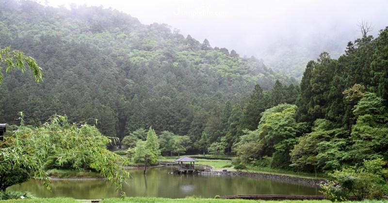宜蘭明池國家森林遊樂區,山林、生態雨中湖畔雲霧的浪漫
