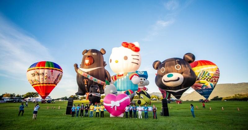 2021臺灣國際熱氣球嘉年華 台東鹿野高台