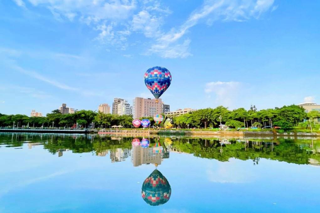 熱氣球升空高雄 高雄愛河