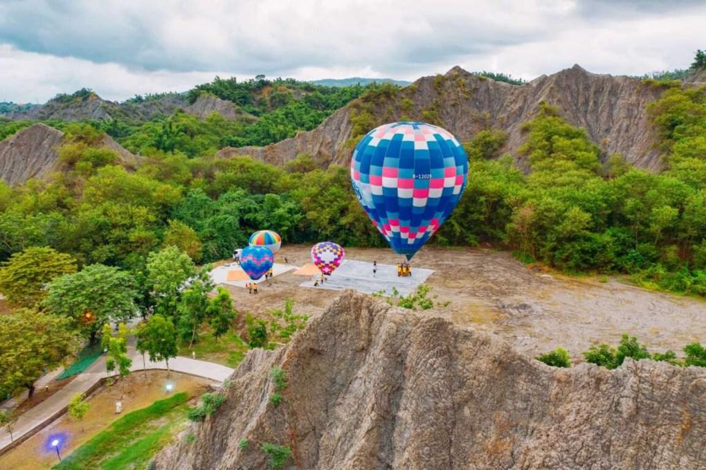 熱氣球升空高雄 田寮月世界