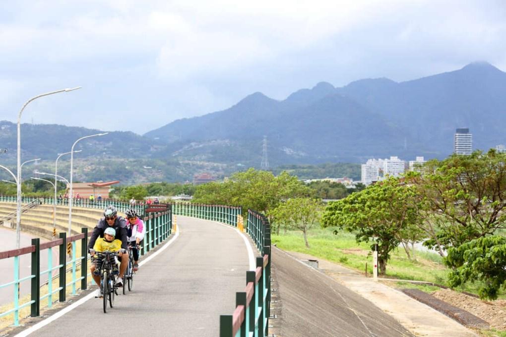 台北市 社子島環島與二重疏洪道自行車道