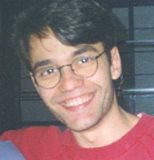 Victor Alvarez in Berlin sometime in the summer of 1997