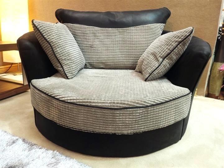 10 Best Ideas Of Cuddler Swivel Sofa Chairs