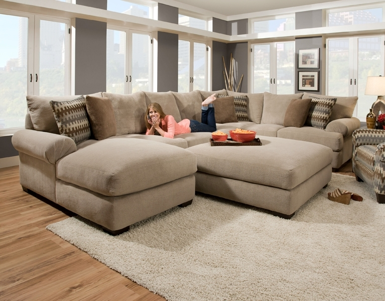 Beau 10 Best Wide Seat Sectional Sofas
