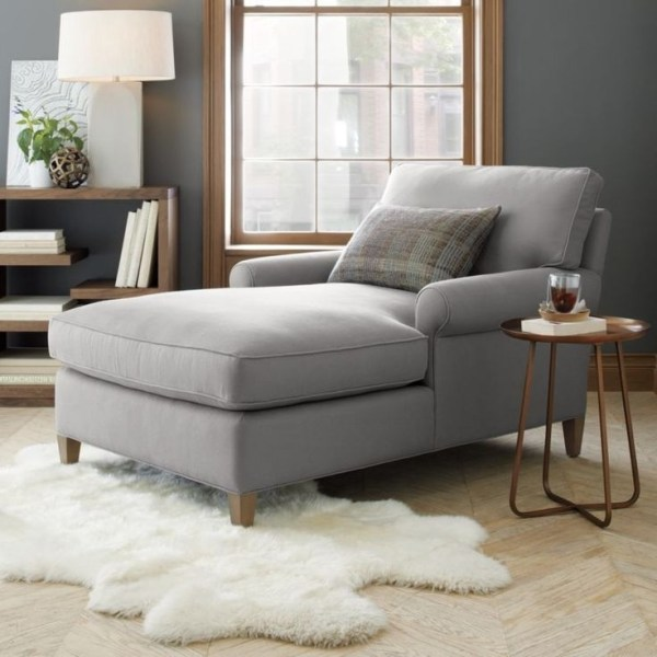 15 Ideas of Small Chaise Lounge Chairs For Bedroom