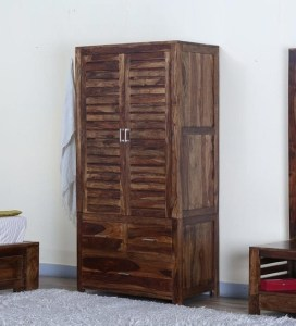 Photo Gallery of Wood Wardrobes  Showing 9 of 15 Photos  Popular Buy Stigen Solid Wood Wardrobe In Provincial Teak Finish Intended  For Wood Wardrobes  Gallery