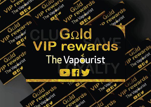 The Vapourist Rewards Card