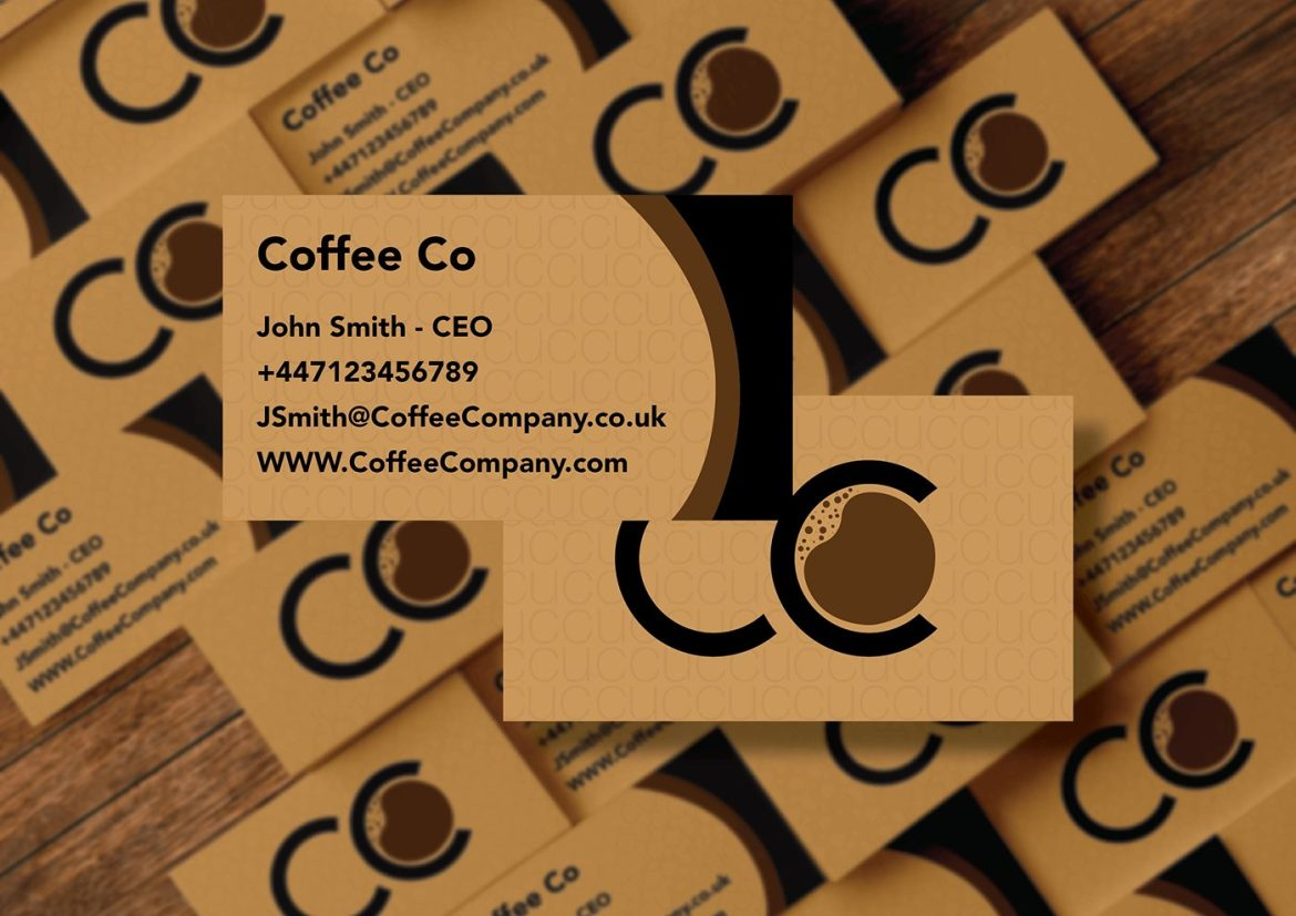 Coffee Company Business Cards