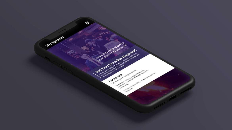 Wiz-Spencer-Entertainment-iPhone-Mock-Up