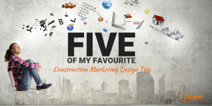 Marketing and design tips for construction business'
