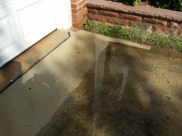 Power Washing a Driveway in Germantown