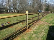 After Fence Repair in Ijamsville
