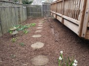 After Clean Up and Mulching in Montgomery Village Maryland