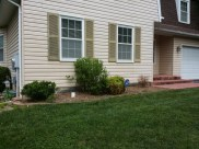 Before Shrub Replacement in Gaithersburg Maryland