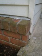 After our Handyman, Brick Repair by JSV Lawn Care Service, JSV Lawns, JSV Lawns of MD. Lawn Care, Landscaping, Clean Up, Handyman Service, Montgomery Village, Montgomery County, Maryland