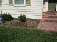 After Weeding and Clean Up by JSV Lawn Care Service, JSV Lawns, JSV Lawns of MD. Lawn Care, Landscaping, Clean Up, Weeding, Weed Pulling, Montgomery County, Maryland,Gaithersburg