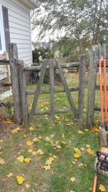 Before Fence Repair by JSV Lawn Care Service, JSV Lawns, JSV Lawns of MD. Lawn Care, Landscaping, Montgomery Village, Montgomery County, Maryland