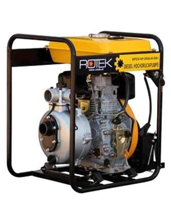 diesel brandpumpe 500 ltr.
