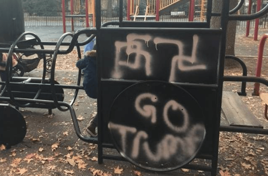 Hate crime in NYC