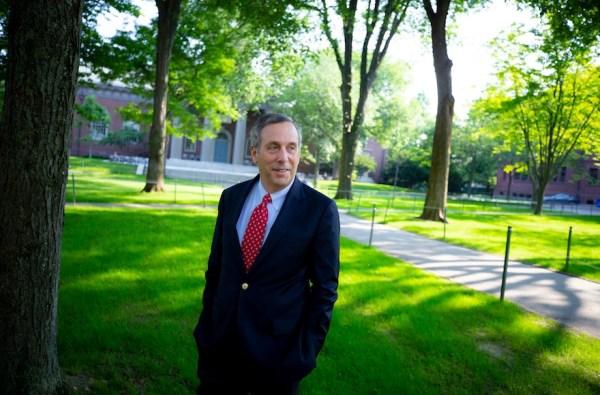 Harvard's Jewish president wants to restore faith in ...