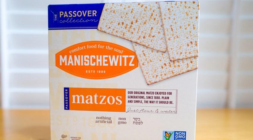 Manischewitz matzah