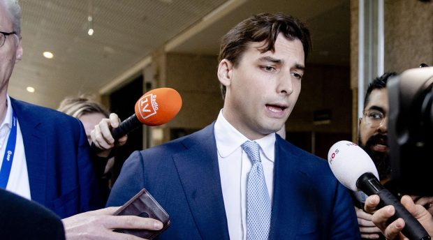 Dutch right-wing leader Thierry Baudet