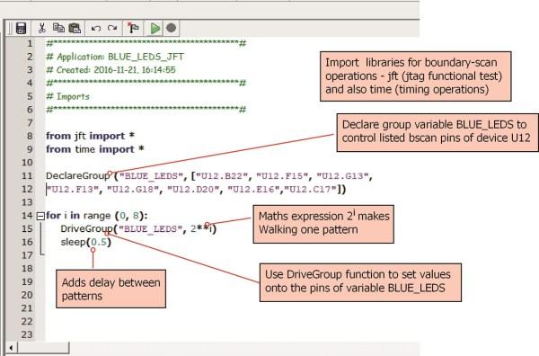 JTAG Live Software Script