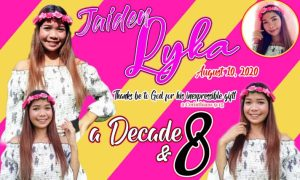 18th Birthday Tarpaulin Design