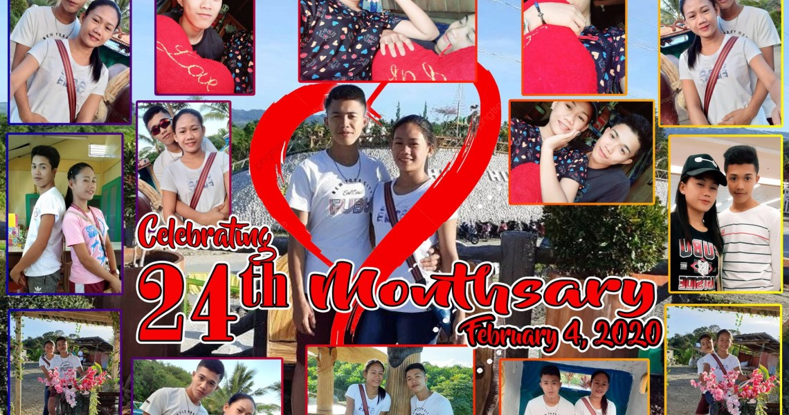 Tarpaulin Design for Celebrating Relationship Anniversary