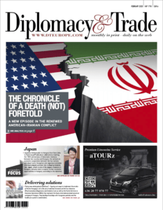Cover Image of Diplomacy and Trade Magazine