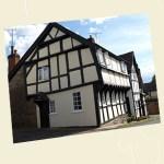 Corner House, Weobley Postcard Angle - Ref L05