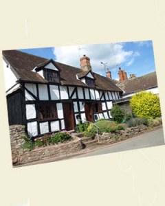 Eardisley Cottage Postcard