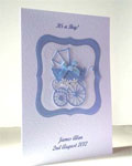 Personalised New Baby Cards