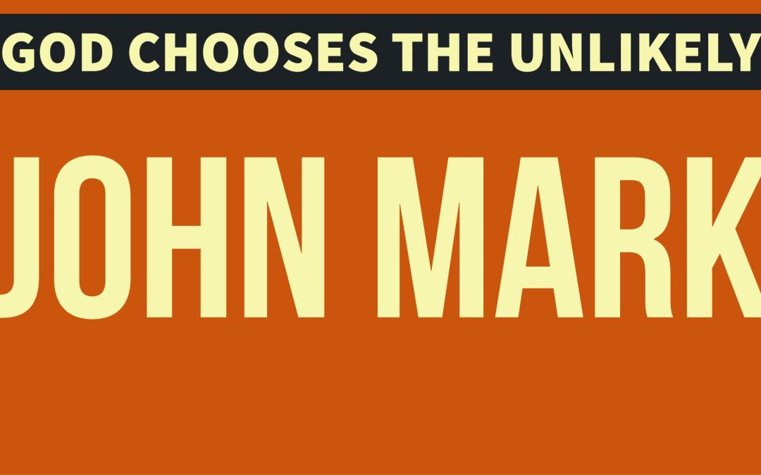 John Mark – A second chance