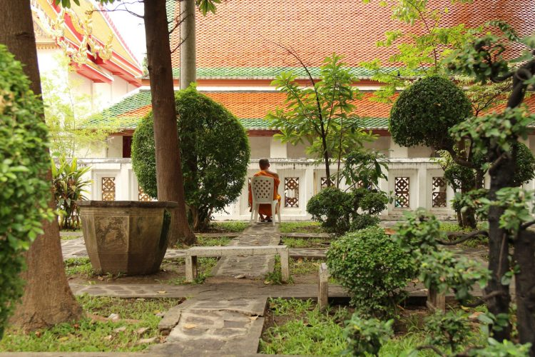 Jardin du temple Wat Pho