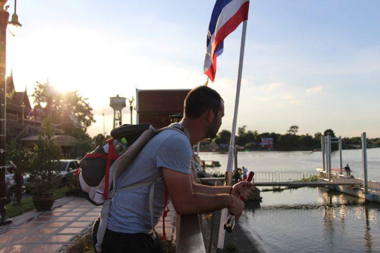 Sur les bords du Chao Phraya