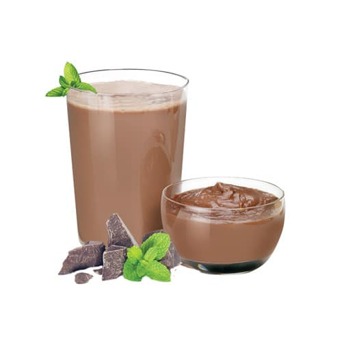 Advanced Mint Fudge Pudding & Shake